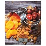 Весы кухонные SCARLETT SC-KS57P33, электронный дисплей, max вес 8 кг, тарокомпенсация, стекло, SC - KS57P33