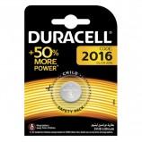 Батарейка DURACELL, CR2016, Lithium, 1 шт., в блистере, 3 В, 81415269