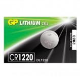Батарейка GP Lithium, CR1220, литиевая, 1 шт., в блистере (отрывной блок), CR1220RA-7C5