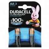 Батарейки DURACELL Ultra Power, AA (LR06, 15А), алкалиновые, КОМПЛЕКТ 2 шт., в блистере