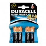 Батарейки DURACELL Ultra Power, AA (LR06, 15А), алкалиновые, КОМПЛЕКТ 4 шт., в блистере