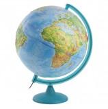 Глобус физический диаметр 320 мм, рельефный, с подсветкой, 10199