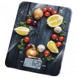 Весы кухонные POLARIS PKS 1050DG La Salsa, электронный дисплей, максимальный вес 10 кг, тарокомпенсация, стекло