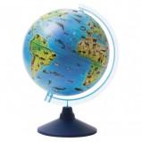 Глобус зоогеографический GLOBEN 'Классик Евро', диаметр 250 мм, детский, Ке012500269