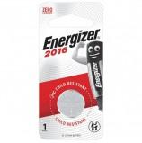Батарейка ENERGIZER, CR 2016, литиевая, 1 шт, в блистере, E301021801