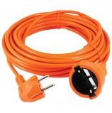 Удлинитель в бухте POWER CUBE, 1 розетка с заземлением, 10 м, 3х0,75 мм, 1300 Вт, оранжевый, PC-EG1-B-10