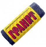Мешки для мусора, 30 л, черные, в рулоне 20 шт., ПНД, 10 мкм, 50х60 см, прочные, КОНЦЕПЦИЯ БЫТА 'Гранит', 0275