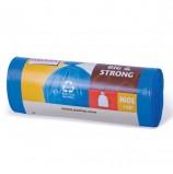 Мешки для мусора 160 л, синие, в рулоне 20 шт., ПВД, 20 мкм, 120х87 см, PACLAN 'Big&Strong'