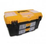 Ящик для инструментов Уран, 21', 28х53х29 см, 3 бокса для мелочей, 2 выдвижные консоли, IDEA, М2927