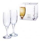 Набор фужеров 'Bistro' для шампанского, 6 шт., 190 мл, стекло, PASABAHCE, 44419