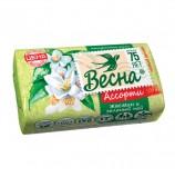 Мыло туалетное 90 г, ВЕСНА 'Жасмин и зелёный чай', 6084