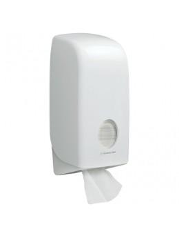 Диспенсер для туалетной бумаги листовой KIMBERLY-CLARK Aquarius, белый, бумага 126128, АРТ. 6946