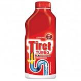 Средство для прочистки канализационных труб 500 мл, TIRET (Тирет) 'Turbo', гель, 8147369