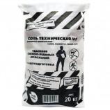 Реагент антигололедный 20 кг, ROCKMELT ('Рокмелт') техническая соль, мешок