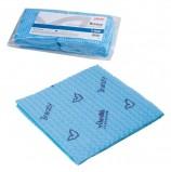 Салфетка VILEDA 'Бризи', КОМПЛЕКТ 25 шт., объемное микроволокно, голубая, 35х35 см, 120124