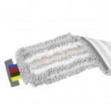 Насадка МОП плоская для швабры/держателя 40 см, уши (ТИП УВ), полиэстер/волокно/вискоза, VILEDA 'УльтраСпидТрио', 524820