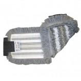Насадка МОП плоская для швабры/держателя 40 см, уши (ТИП УВ), полиэстер/волокно/вискоза, VILEDA 'УльтраСпидТрио+', 515730
