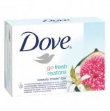 Мыло-крем туалетное 135 г, DOVE 'Инжир и лепестки апельсина'