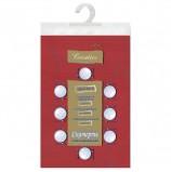 Скатерть бумажная ламинированная ASTER 'Creative', 120х200, бордовая, эффект шелка, Бельгия, 79125