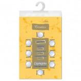 Скатерть бумажная ламинированная ASTER 'Creative', 120х200, желтая, эффект шелка, Бельгия, 79132