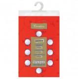 Скатерть бумажная ламинированная ASTER 'Creative', 120х200, красная, эффект шелка, Бельгия, 79149