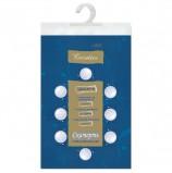 Скатерть бумажная ламинированная ASTER 'Creative', 120х200, синяя, эффект шелка, Бельгия, 79156