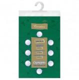 Скатерть бумажная ламинированная ASTER 'Creative', 120х200, зеленая, эффект шелка, Бельгия, 79163