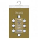 Скатерть бумажная ламинированная ASTER 'Creative', 120х200, золотая, эффект шелка, Бельгия, 79195
