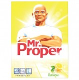 Чистящее средство 400 г, MR.PROPER (Мистер Пропер) 'Лимон', универсал, порошок