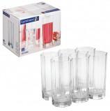 Набор стаканов для сока и виски, 6 шт., 330 мл, высокие, стекло, Octime, LUMINARC, H9811