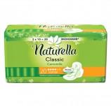 Прокладки женские гигиенические NATURELLA (Натурелла) Classic Camomile Normal, КОМПЛЕКТ 20 шт.