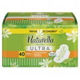 Прокладки женские гигиенические NATURELLA (Натурелла) Ultra Camomile Normal, КОМПЛЕКТ 40 шт.