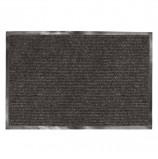 Коврик входной ворсовый влаго-грязезащитный ЛАЙМА, 120х150 см, ребристый, толщина 7 мм, черный, 602877