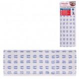 Насадка МОП плоская для швабры/держателя 40 см, карманы (ТИП К), микрофибра/абразив, ОФИСМАГ 'Стандарт', 603126
