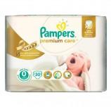 Подгузники КОМПЛЕКТ 30 шт., PAMPERS (Памперс) Premium Care Newborn, размер 0 (до 2,5 кг), PA-81532682