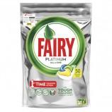 Капсулы для мытья посуды в посудомоечных машинах, 50 шт. FAIRY (Фейри) All in 1, 'Лимон', 1009455