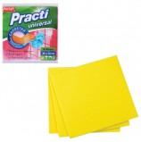 Салфетки универсальные, комплект 4 шт., 38х40 см, PACLAN 'Practi', нетканое полотно, 410020