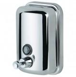 Диспенсер для жидкого мыла KSITEX, наливной, нержавеющая сталь, зеркальный, 0,8 л, SD 2628-800