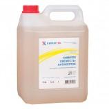 Мыло жидкое дезинфицирующее 5 л, ХИМИТЕК 'Свежесть-антисептик', смягчающее, 10506