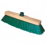Щетка для уборки, ширина 32 см, щетина 7 см, деревянная, крепление еврорезьба, YORK 'Sara', 200