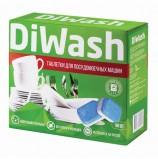 Средство для мытья посуды в посудомоечных машинах 100 шт., DIWASH (Дивош), таблетки