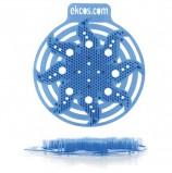 Коврики-вставки для писсуара, ЭКОС (POWER-SCREEN), на 30 дней каждый, комплект 2 шт., аромат 'Мята', цвет синий, PWR-3B