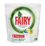 Капсулы для мытья посуды в посудомоечных машинах 84 шт. FAIRY (Фейри) All in 1, 'Лимон', FR-81652888