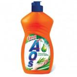 Средство для мытья посуды 450 мл, AOS 'Бальзам Алоэ Вера', 1112-3