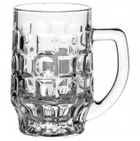 Набор кружек для пива, 2 шт., объем 500 мл, фактурное стекло, 'Pub', PASABAHCE, 55289