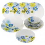 Набор столовый, 25 предметов, суповые/обеденные/десертные тарелки, 'Workshop Spring', PASABAHCE, 95665УБ