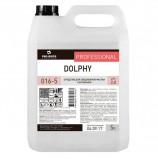 Средство для уборки сантехнических блоков 5 л, PRO-BRITE DOLPHY, кислотное, концентрат, гель, 016-5