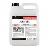 Средство для уборки санитарных помещений 5 л, PRO-BRITE ALFA-GEL, кислотное, концентрат, гель, 054-5