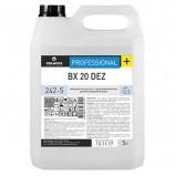 Средство моющее 5 л, PRO-BRITE BX 20 DEZ, с отбеливающим эффектом, щелочное, концентрат, 242-5