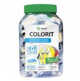 Средство для мытья посуды в посудомоечных машинах 35 шт. GRASS COLORIT '5 в 1', таблетки, 213000